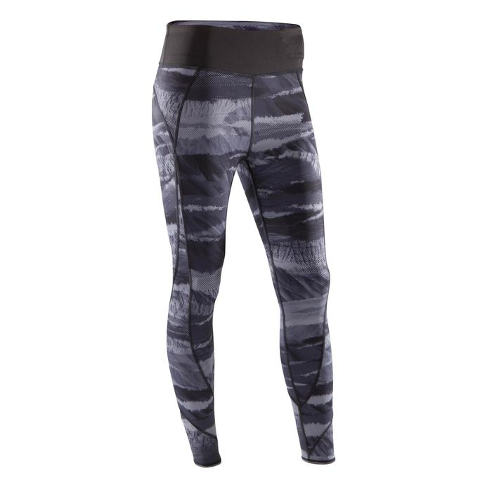 Legging réversible YOGA+ 920 femme noir / blanc print - 1295370