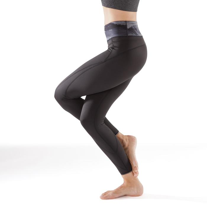 Legging réversible YOGA+ 920 femme noir / blanc print - 1295371
