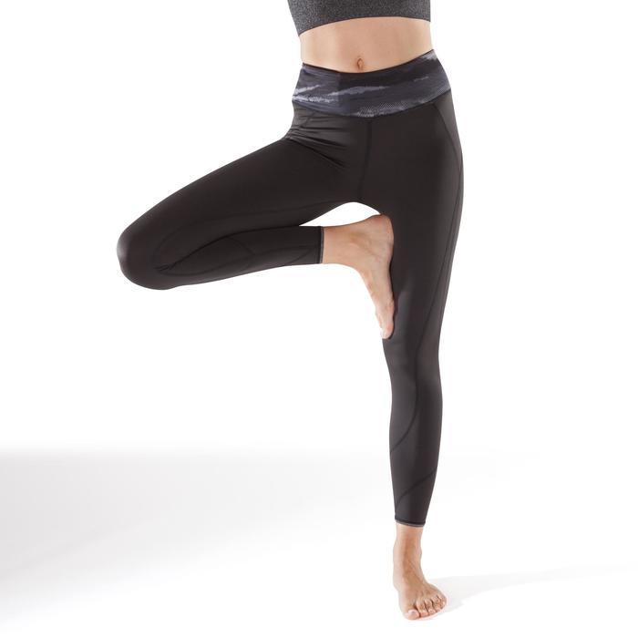 Legging réversible YOGA+ 920 femme noir / blanc print - 1295376