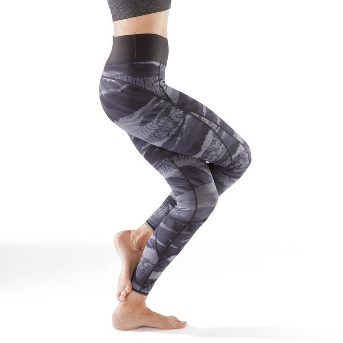 Legging réversible YOGA+ 920 femme noir / blanc print - 1295379