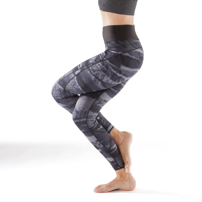 Legging réversible YOGA+ 920 femme noir / blanc print - 1295383