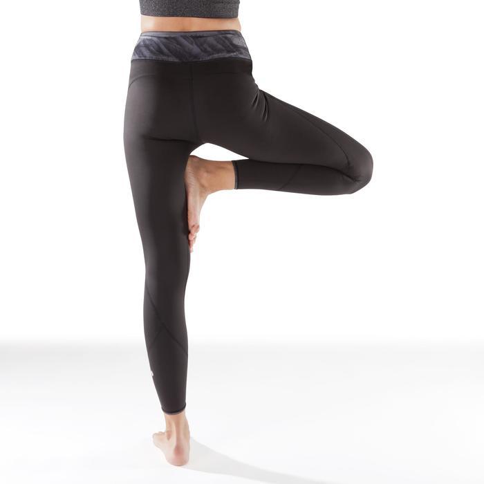 Legging réversible YOGA+ 920 femme noir / blanc print - 1295384