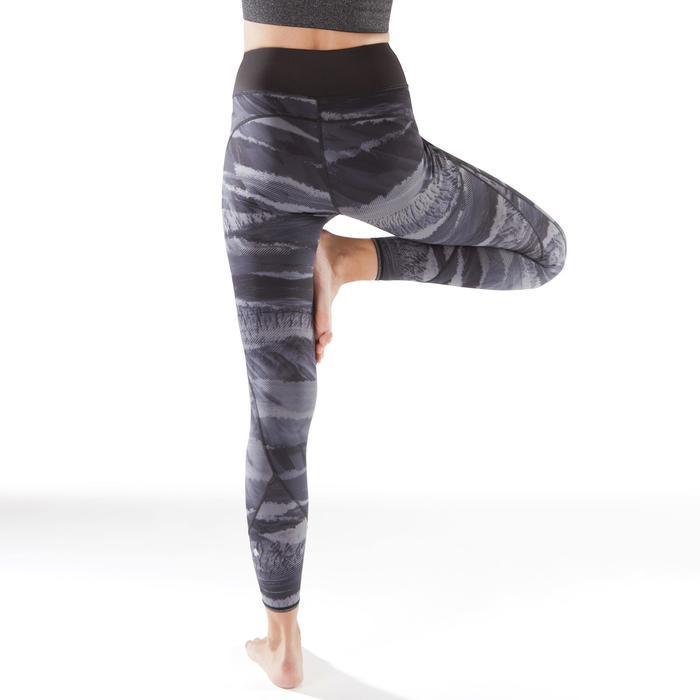 Legging réversible YOGA+ 920 femme noir / blanc print - 1295390