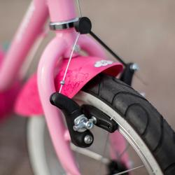 "Kit Guardabarros Bicicleta Infantil 14"" Pulgadas Rosa"