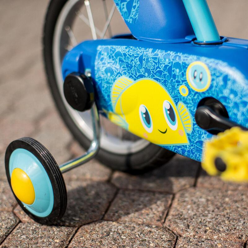 500 Kids' 14-Inch Bike (3-5 Years) - Ocean