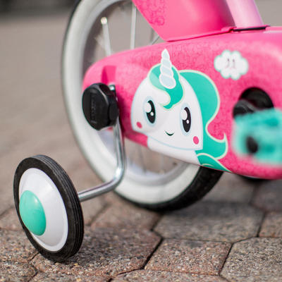 Kids' 14-Inch Bike (3-4.5 Years) 500 - Unicorn