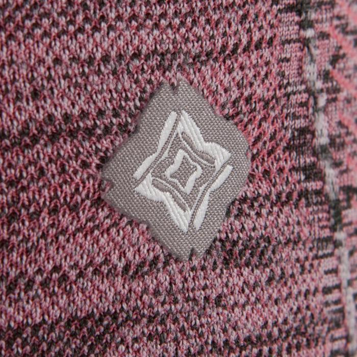 Legging YOGA sans coutures femme 7/8 chiné - 1295451