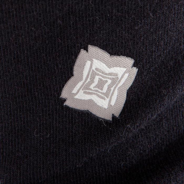 Corsaire YOGA femme noir coton issu de l'agriculture biologique - 1295464