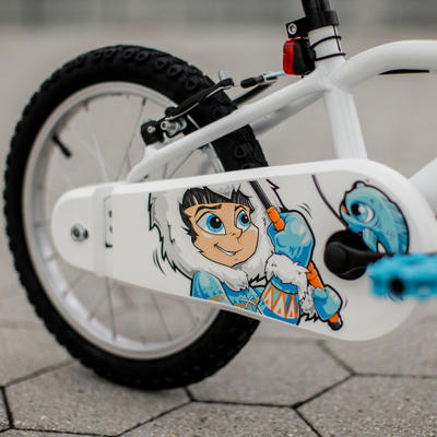 אופני ילדים דגם 100 16 אינץ' לגילאי 4 - 6