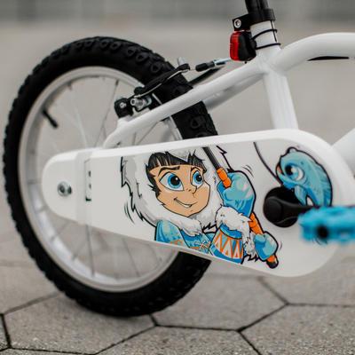 100 Kids' 16-Inch Bike (4.5-6 Years) - Inuit