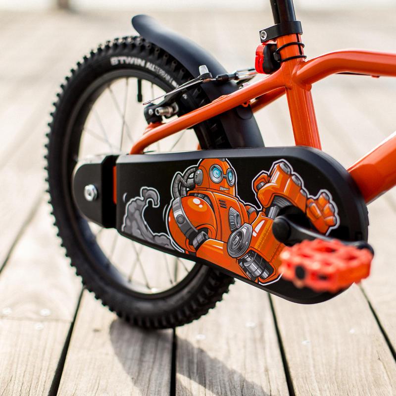 Kids' 16-Inch Bike (4.5-6 Years) 500 - Robot