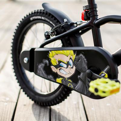 אופני ילדים 16 אינץ' 500 Dark Hero גיל 4-6
