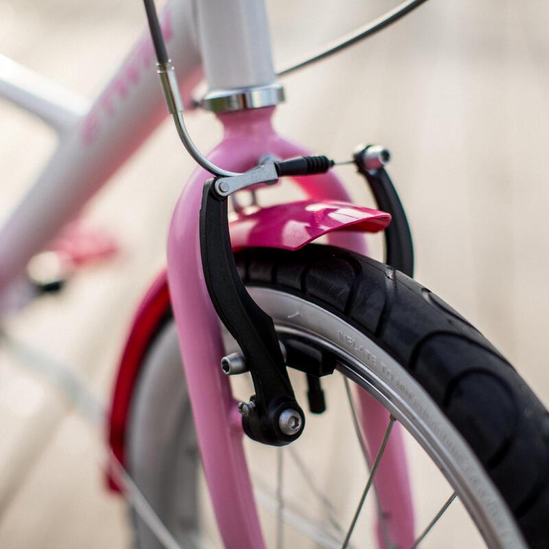 500 Kids' 16-Inch Bike (4.5-6 Years) - Docto Girl