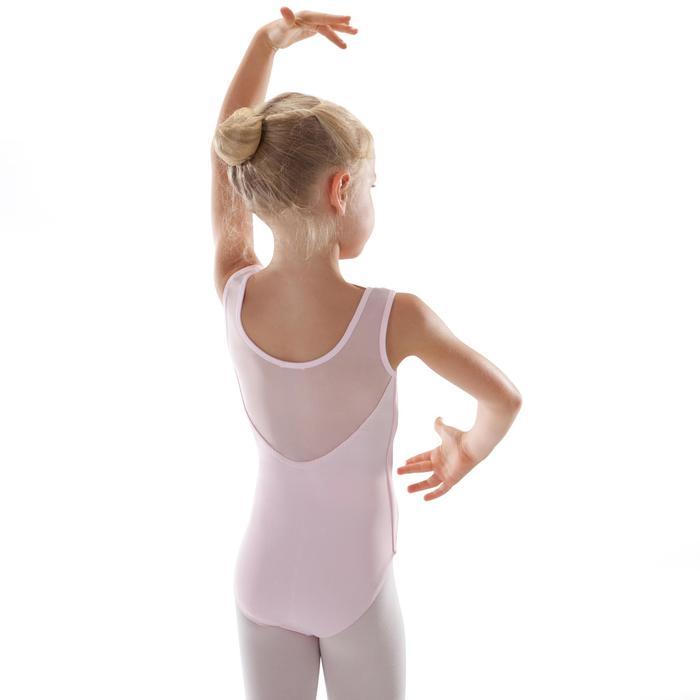 Justaucorps de danse classique bi-matière voile - 1295513