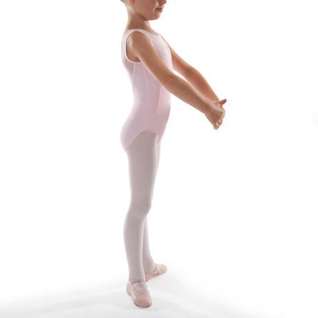 3fa3e6ff77 Maillot de Dança Clássica Bimatéria Menina Rosa. Previous. Next