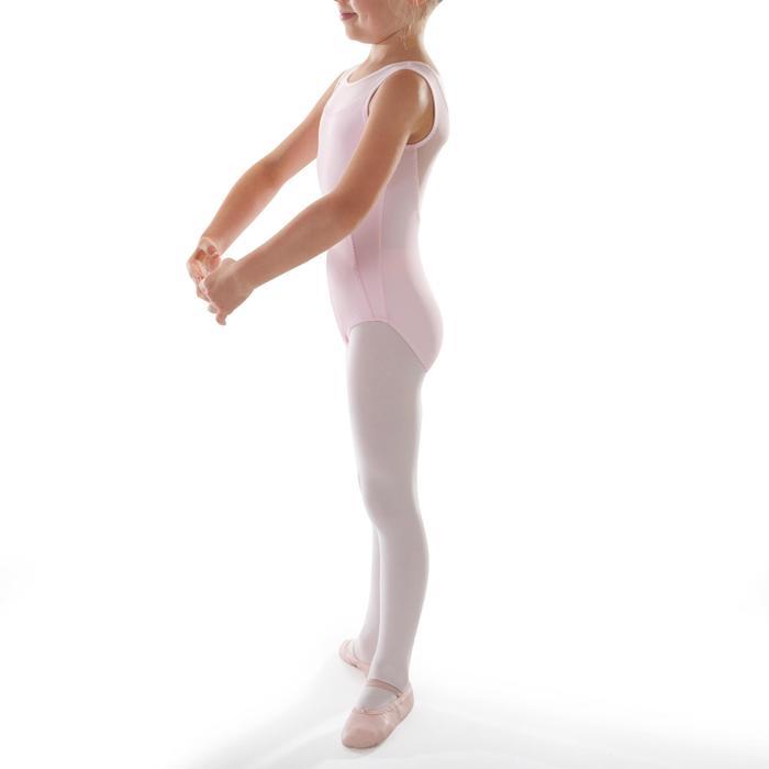 Justaucorps de danse classique bi-matière voile - 1295528