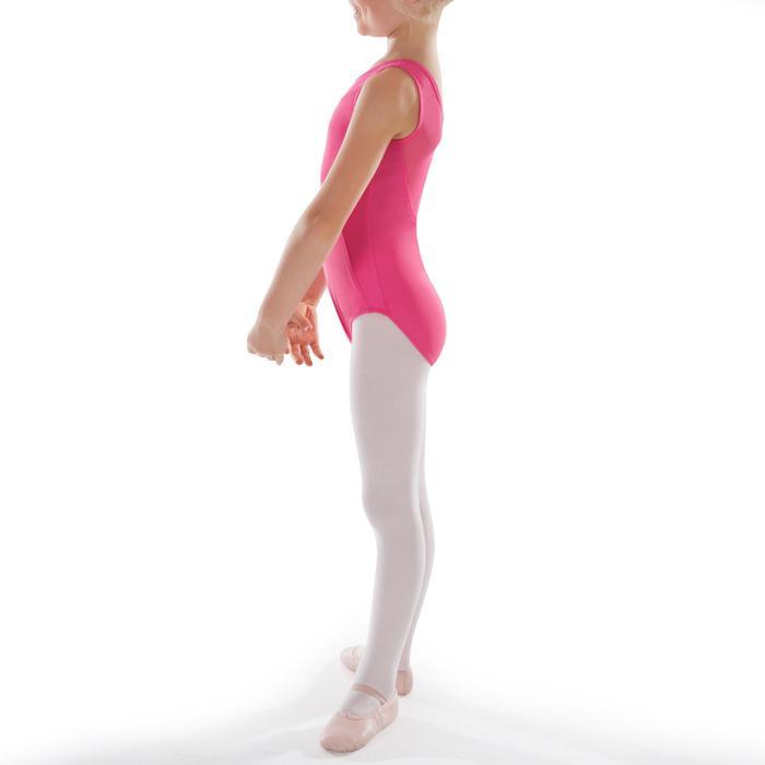 Justaucorps de danse classique bi-matière voile - 1295533