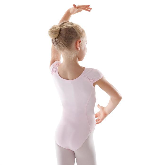 Balletpakje met korte mouwen voor meisjes roze