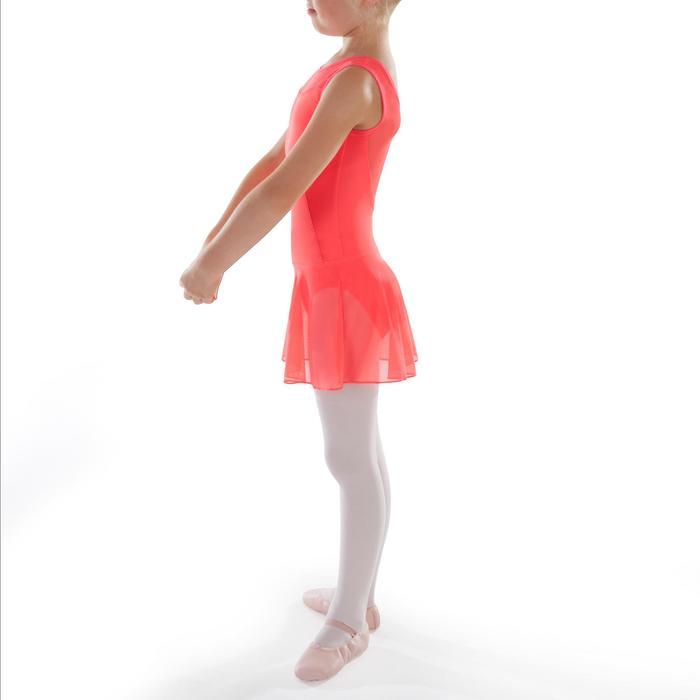Ballettrock Tüll Kinder koralle