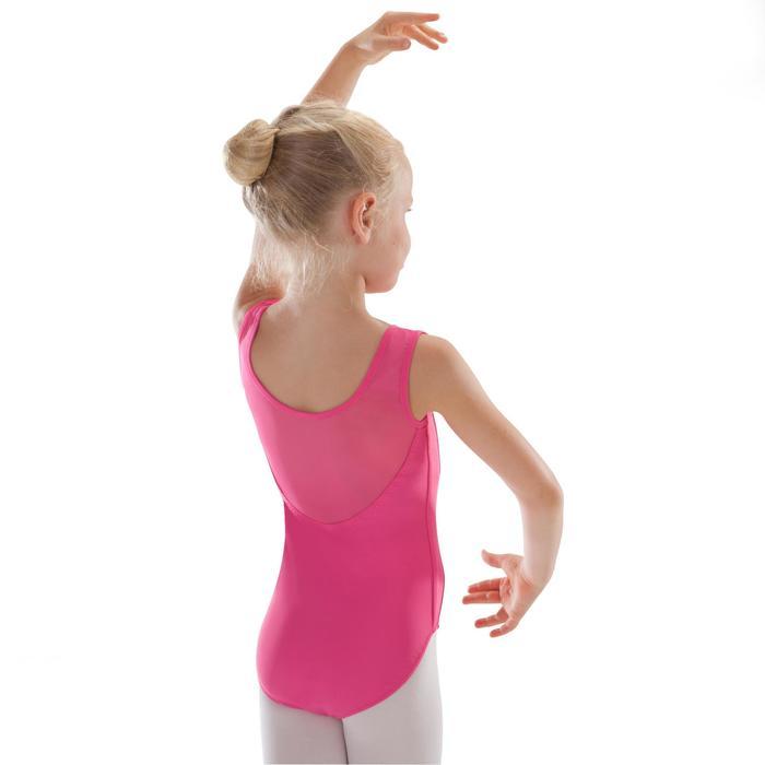 Justaucorps de danse classique bi-matière voile - 1295541