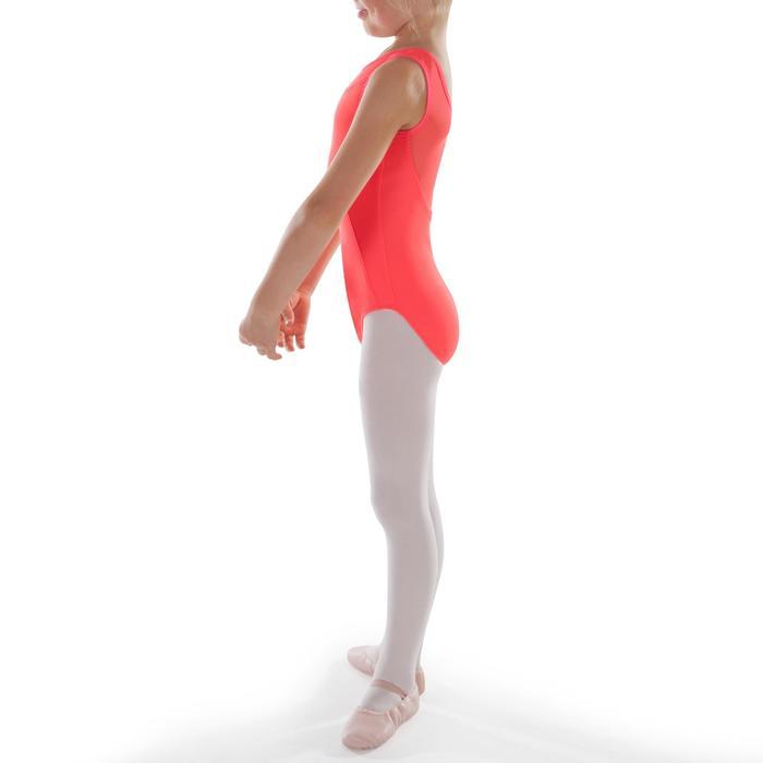 Justaucorps de danse classique bi-matière voile - 1295542
