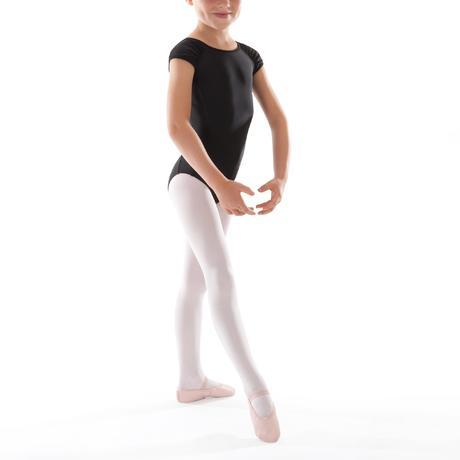 justaucorps manches courtes de danse classique fille noir. Black Bedroom Furniture Sets. Home Design Ideas