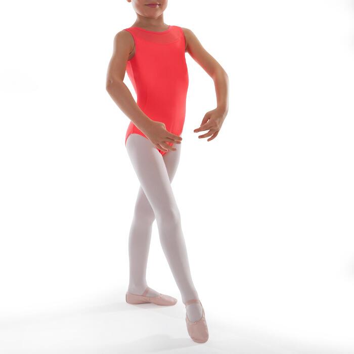 Justaucorps de danse classique bi-matière voile - 1295549