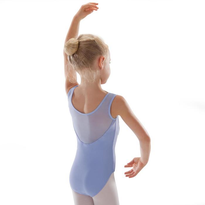Justaucorps de danse classique bi-matière voile - 1295551