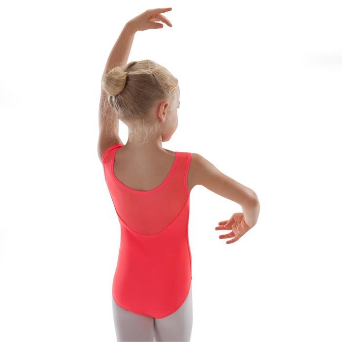 Justaucorps de danse classique bi-matière voile - 1295555