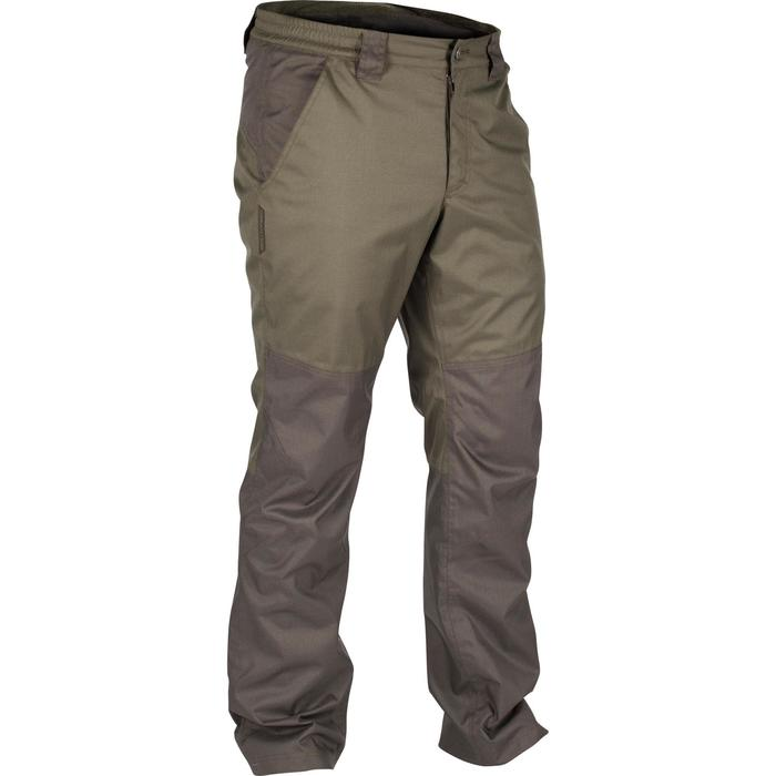 Pantalon imperméable chasse RENFORT 100 VERT - 1295575