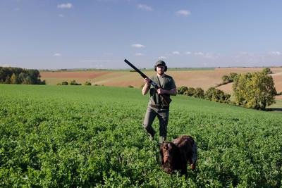 Футболка SG100 DSH для полювання з коротким рукавом - Хакі
