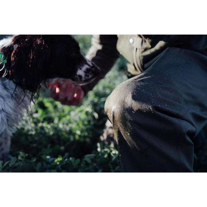 Cuissard chasse renfort 100 vert - 1295590