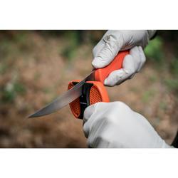 Kit de couteaux et aiguiseur pour venaison