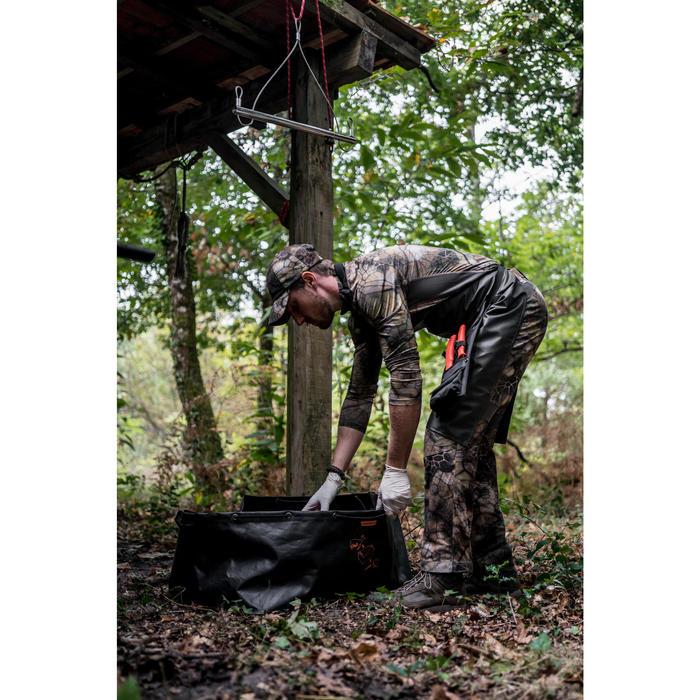 Opvouwbare en waterdichte wildbak 100 liter
