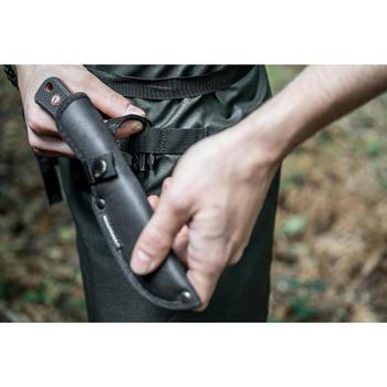 Etui für Messer mit feststehender Klinge 90 schwarz
