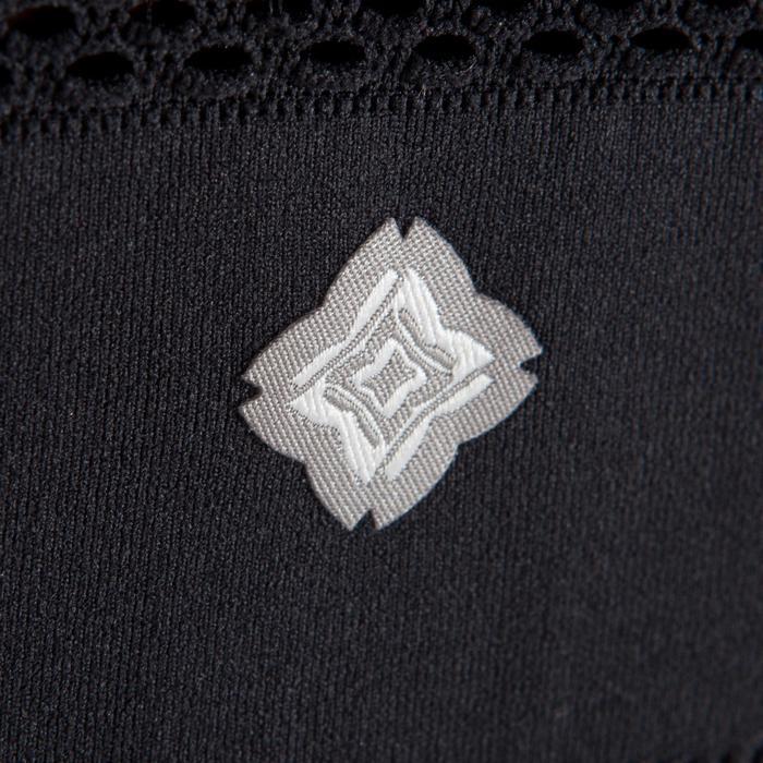 Brassiere YOGA sans couture femme noir / silver - 1295672