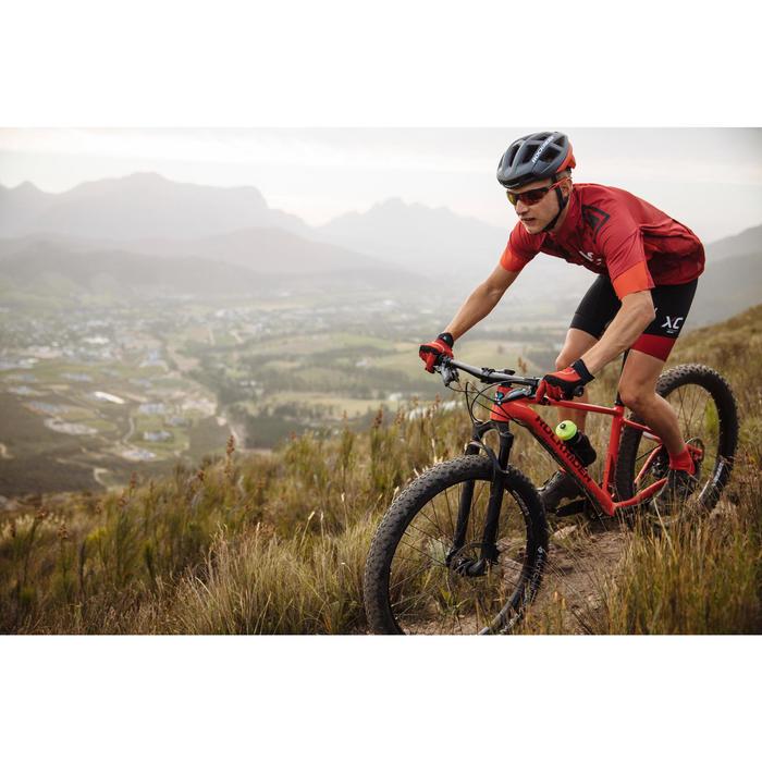 Lunettes de vélo adulte XC 120 photochromiques grises et rouges catégorie 1 à 3