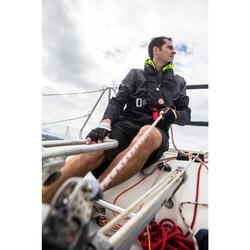 Bermuda de régate bateau homme Race 900 noir