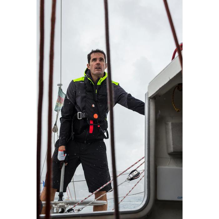 Softshell de regata hombre RACE negro