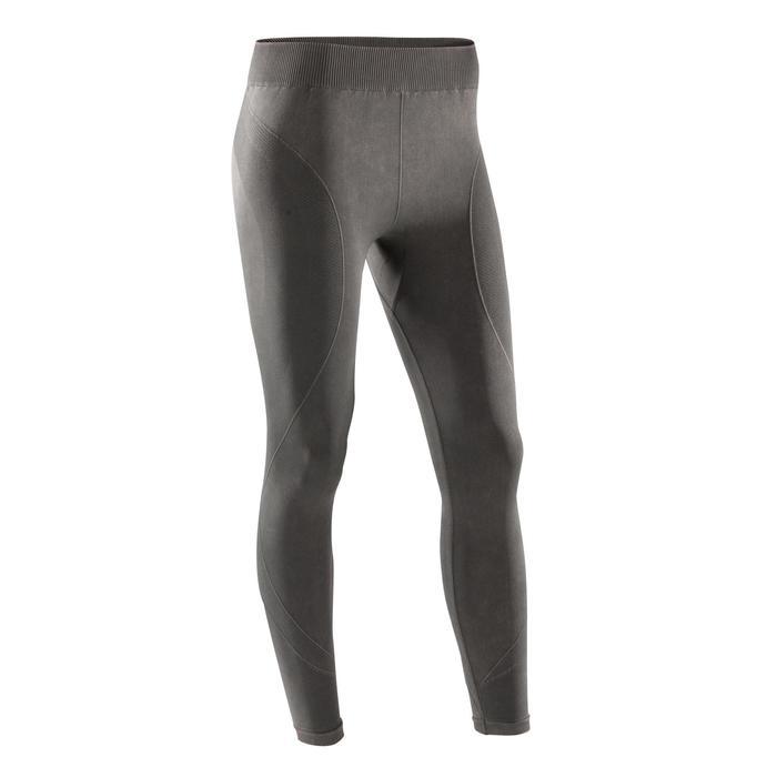 Legging YOGA+ 500 sans couture femme longueur 7/8 - 1295777