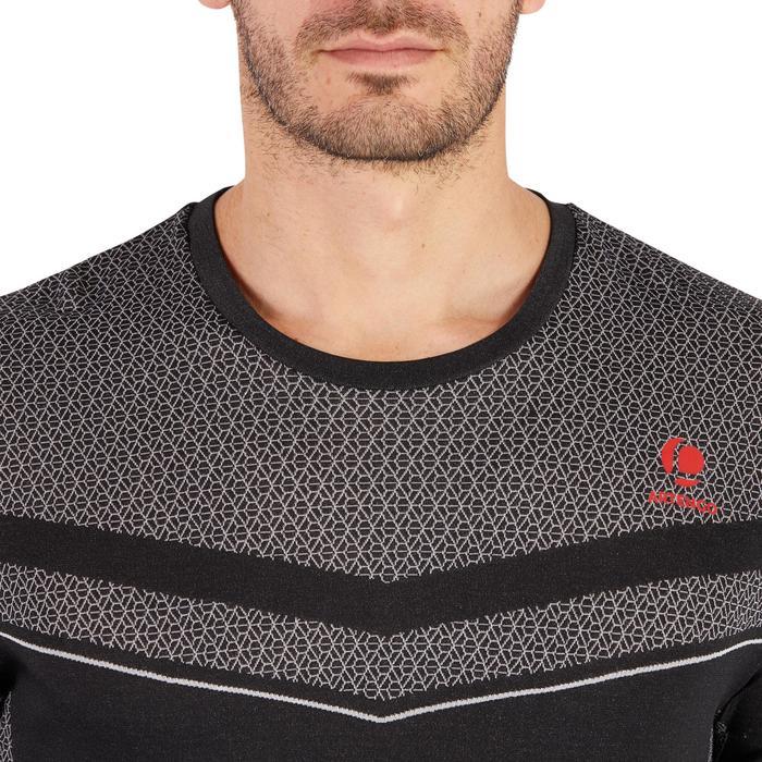T-shirt tennis Light 990 heren zwart