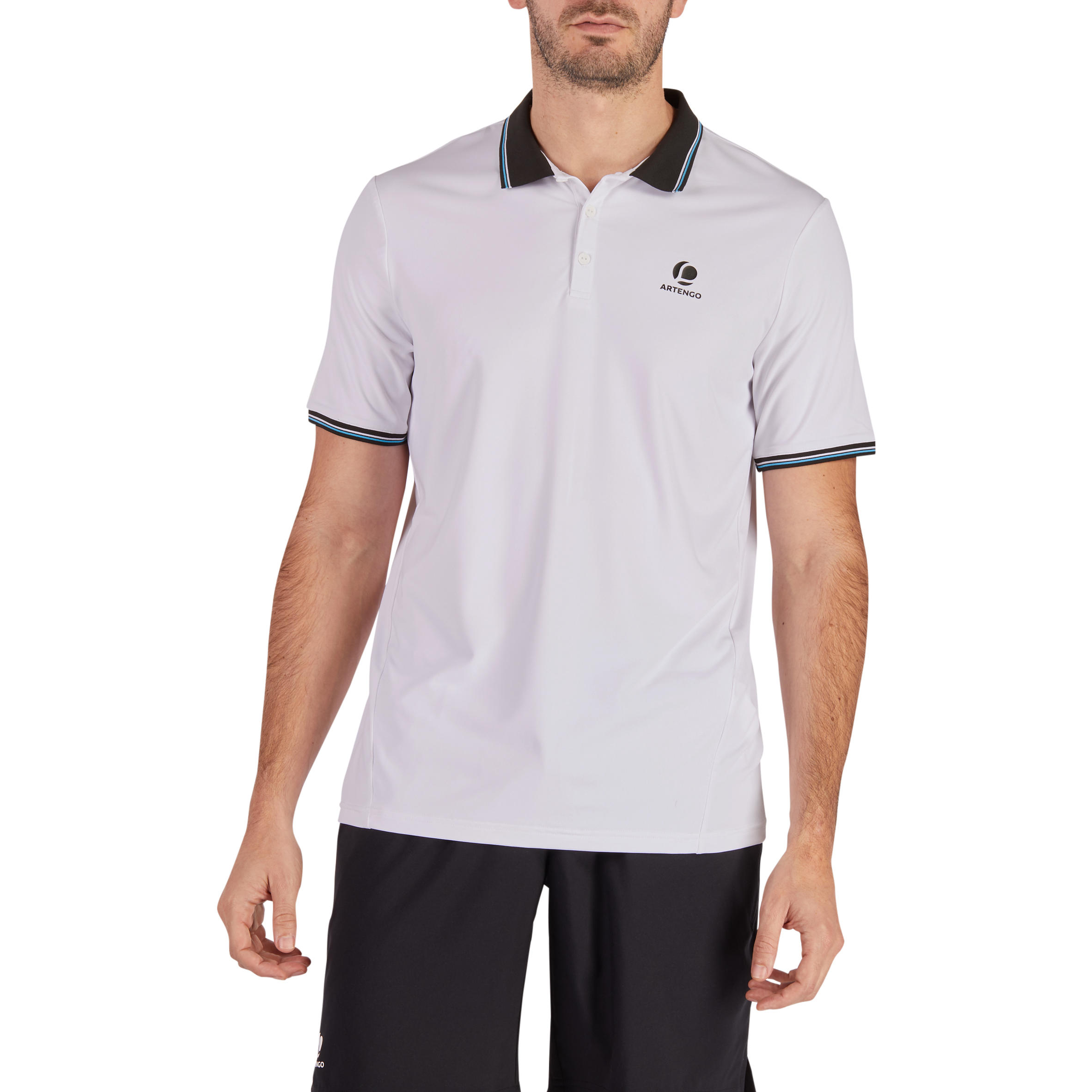 Dry 500 Tennis Polo Shirt - White