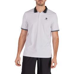 網球Polo衫Dry 500-白色