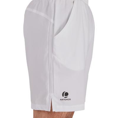 מכנסי טניס קצרים Dry 500 - לבן