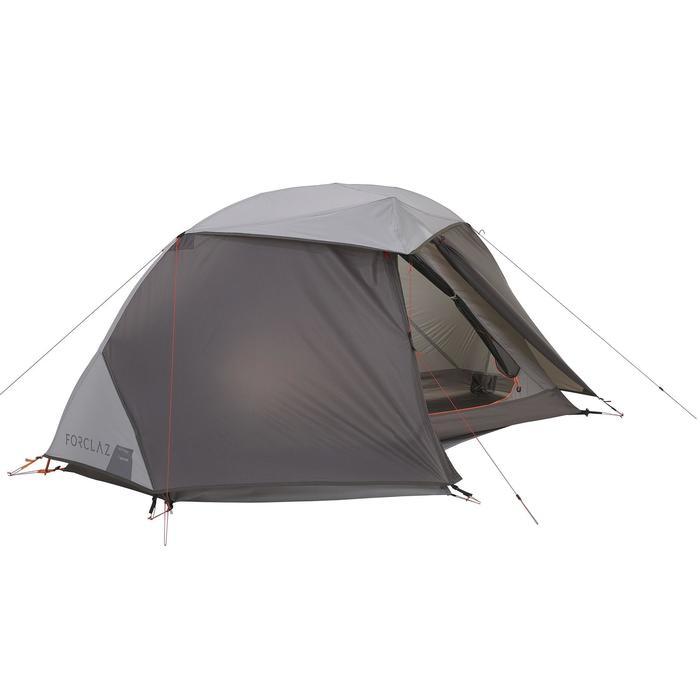 Tente de trek 900 ultralight 1 personne gris - 1296212
