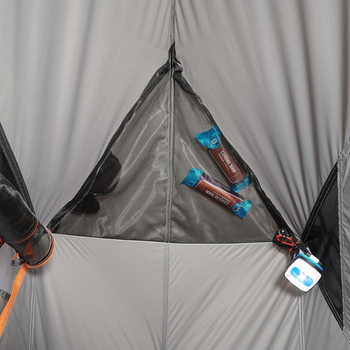 Tente de trek 900 ultralight 1 personne gris - 1296217