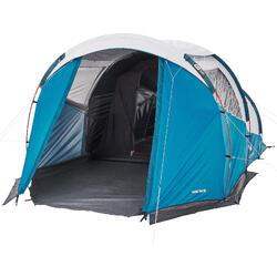 露營帳篷Arpenaz 4.1 F&V-4人1間寢室