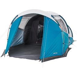 Family camping tent arpenaz 4.1 Fresh & Black   4 persons