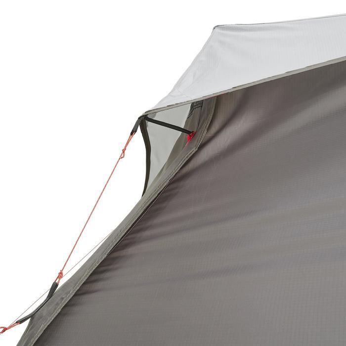 Tente de trek 900 ultralight 1 personne gris - 1296230