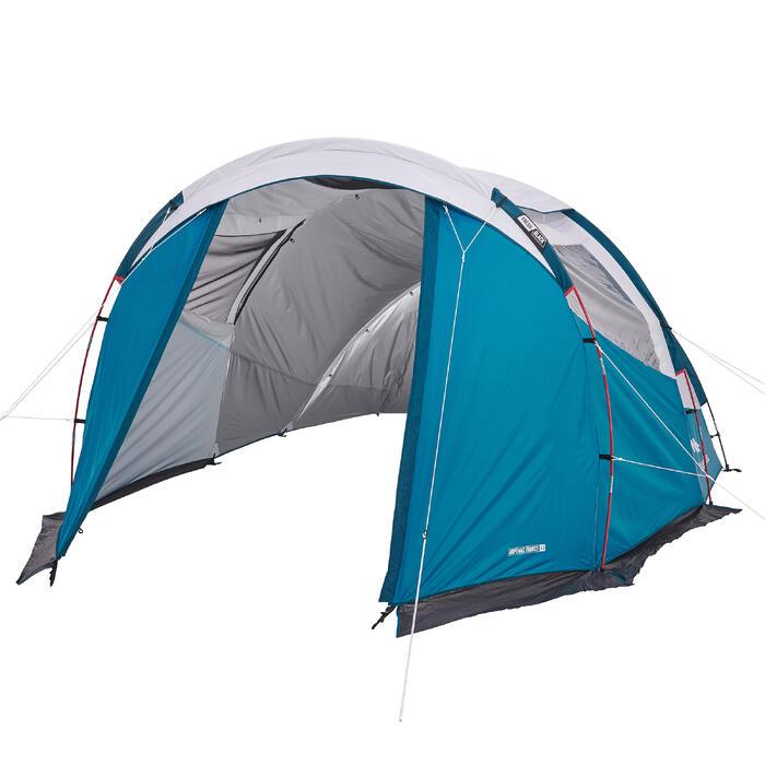 Tente de camping familiale arpenaz 4.1  Fresh & Black | 4 personnes